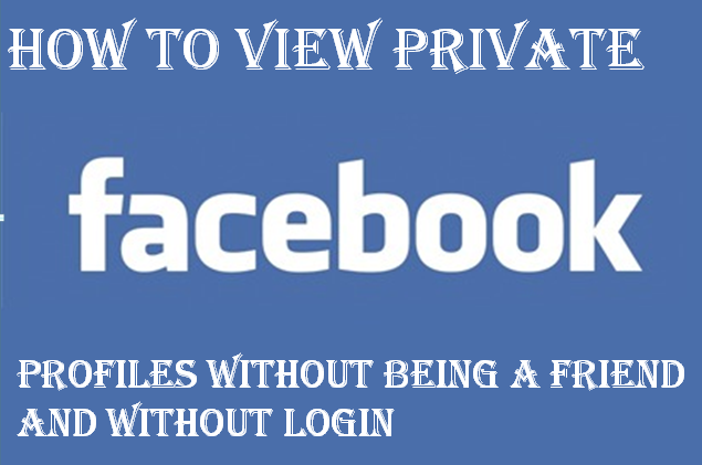How To View Private Facebook Photos Without Being Friend