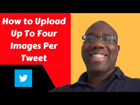 Upload up to four images per Tweet in Twitter