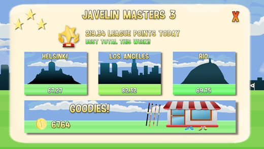Free Javelin Masters Iphone Game Download