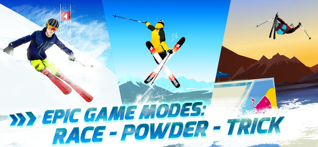 Free Red Bull Free Skiing Iphone Game Download