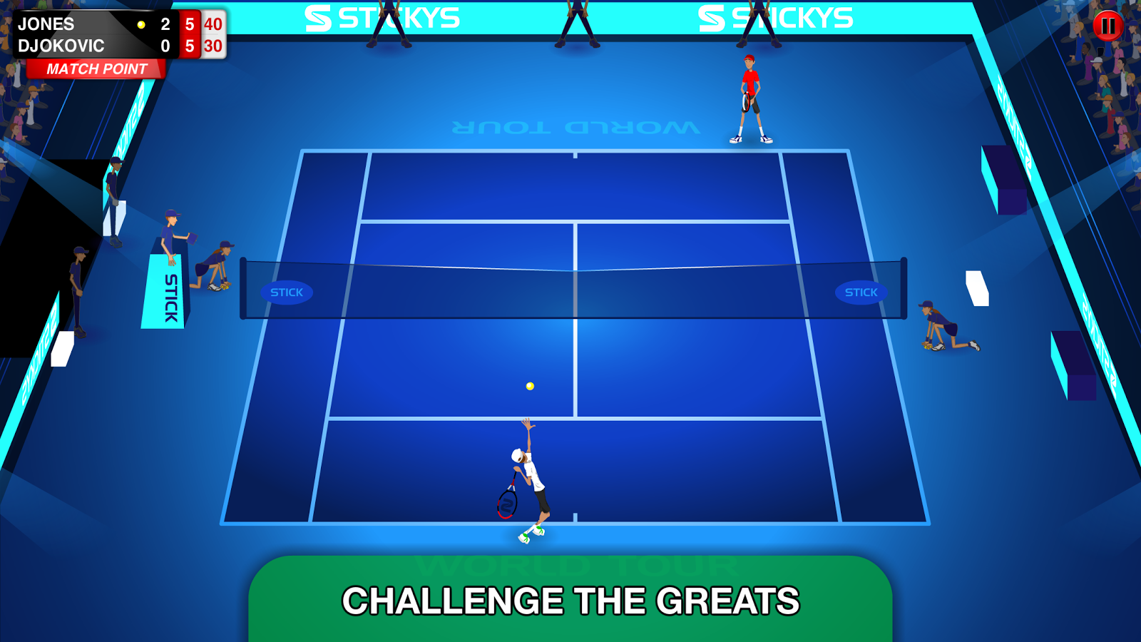 Free Stick Tennis Tour Iphone Game Download