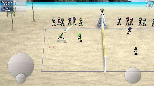 Free Stickman Volleyball Iphone Game Download