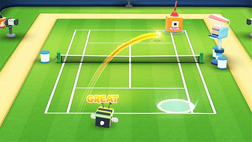 Free Tennis Bits Iphone Game Download