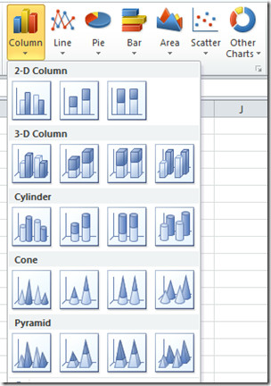 How Many Chart Types Does Excel Offer