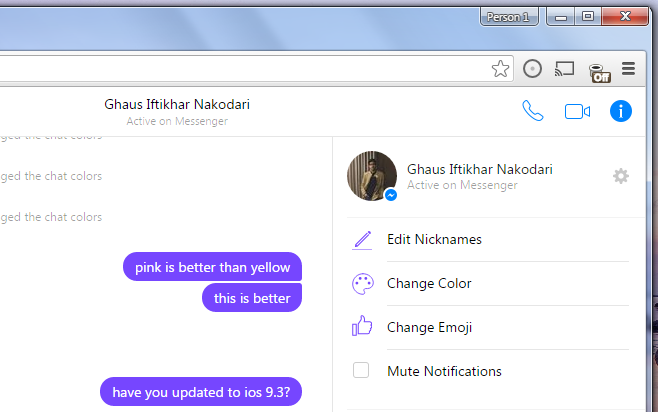How To Change Nickname On Facebook Chat