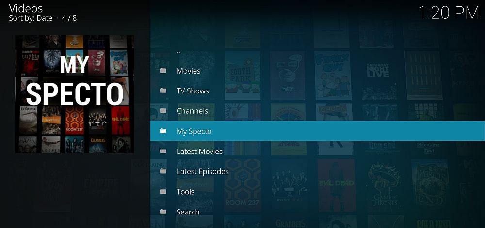 How To Use Specto On Kodi