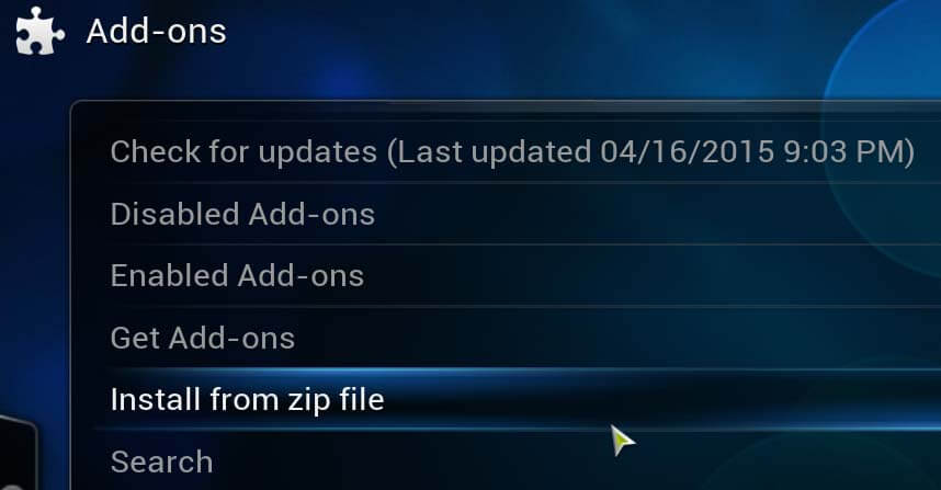 How to Install Kodi Add-ons