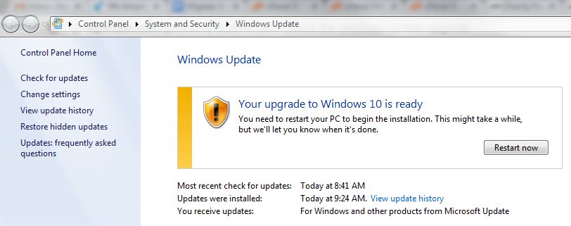 Remove Upgrade to Windows 10 Message From Windows