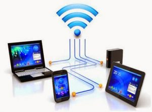 Create WiFi hotspot with the assistance of charge incite