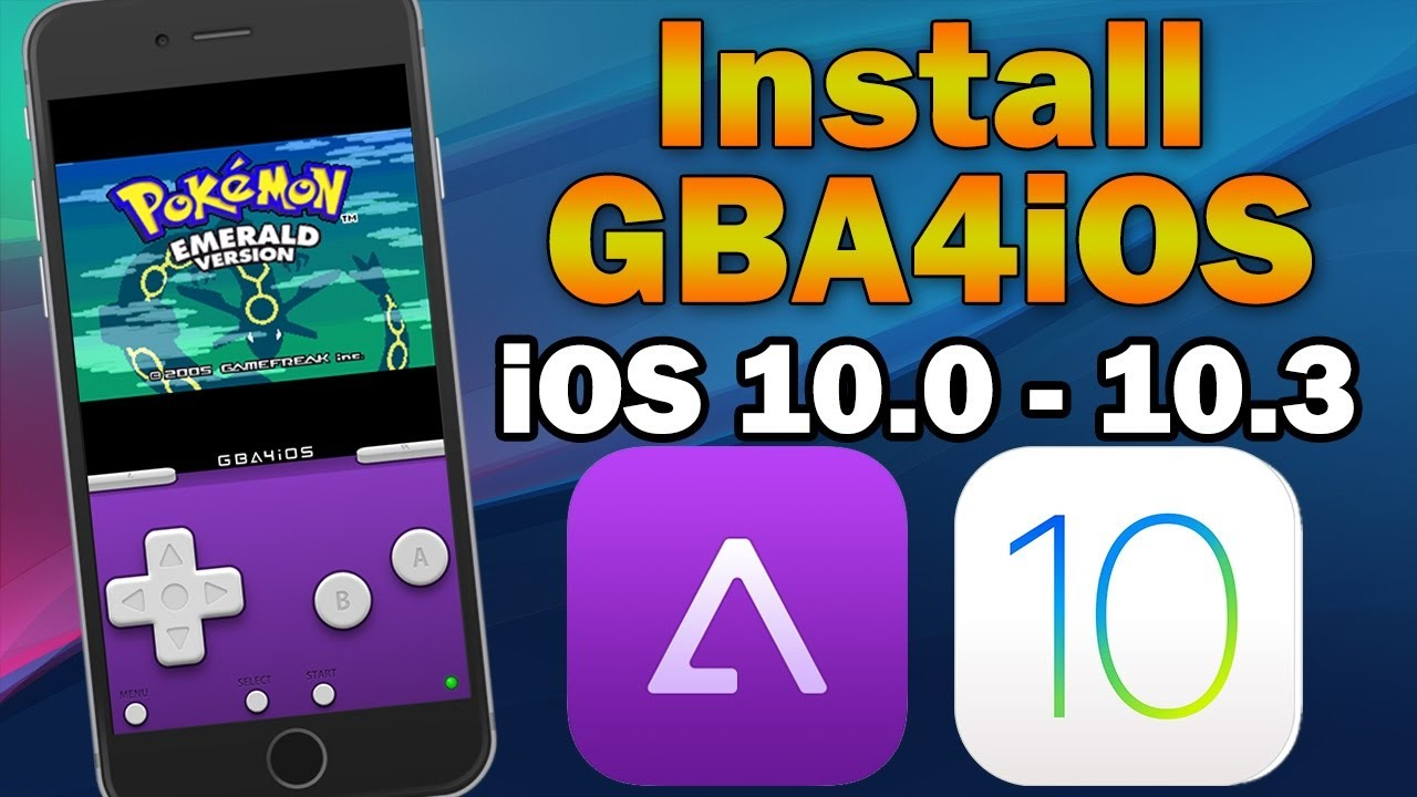 Install Updated GBA4iOS 2.1 on iOS