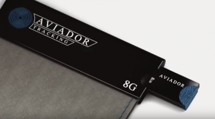 Aviador Tracker Wallet