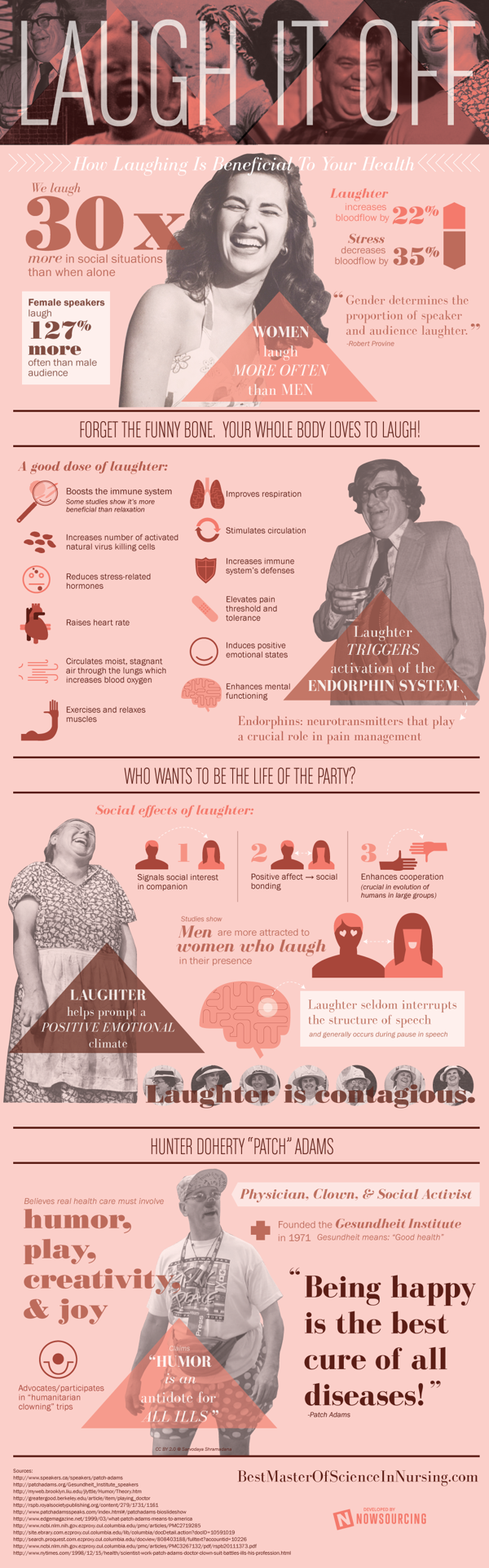 How Laughing Is Beneficial To Your Health - Infographic