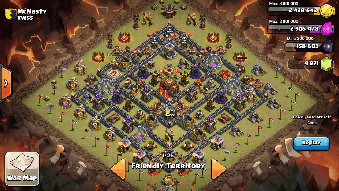 Best Town Hall 10 War Base Layouts