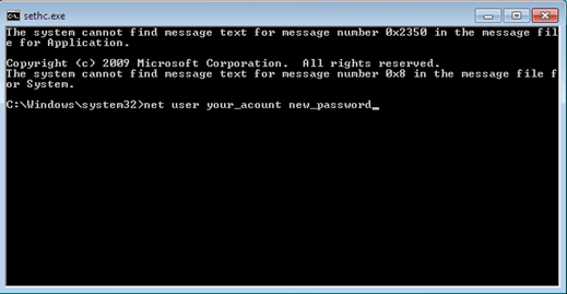 How To Bypass Administrator Password of Windows