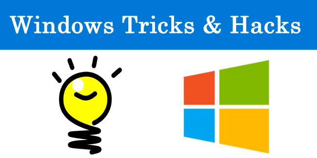 Window Tricks and Hacks