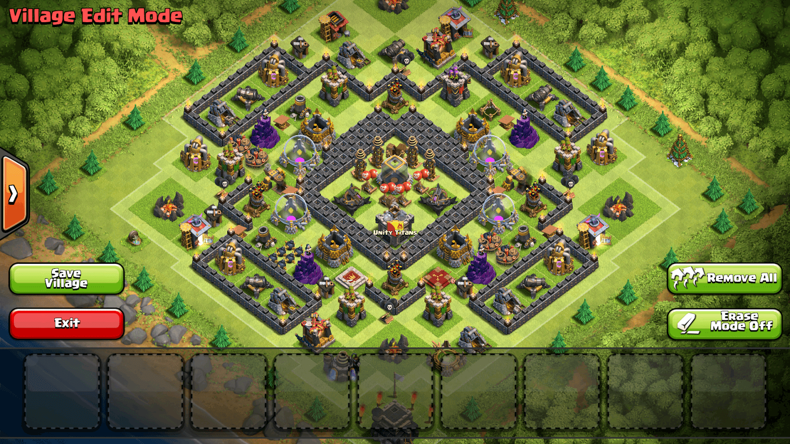 clash of clans th9 farming base 2018