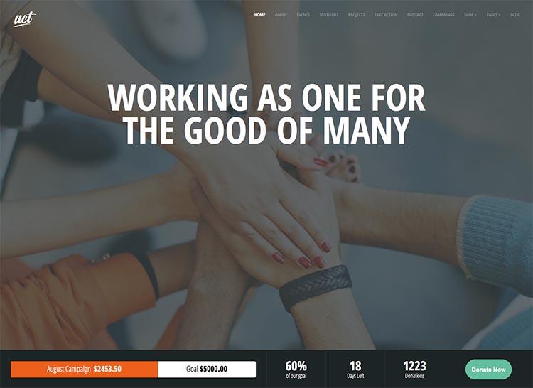 Act WordPress Theme Free Download