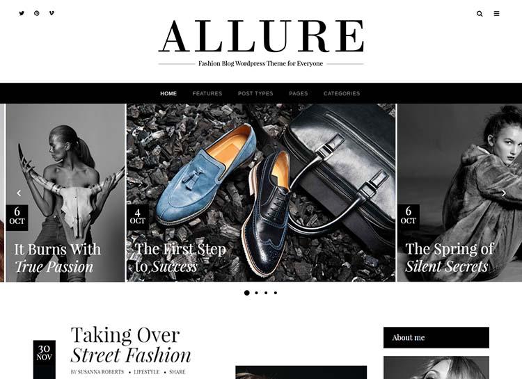 Allure WordPress Theme Free Download