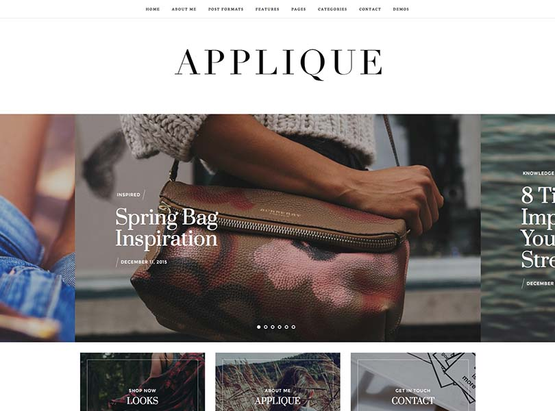Applique WordPress Theme Free Download
