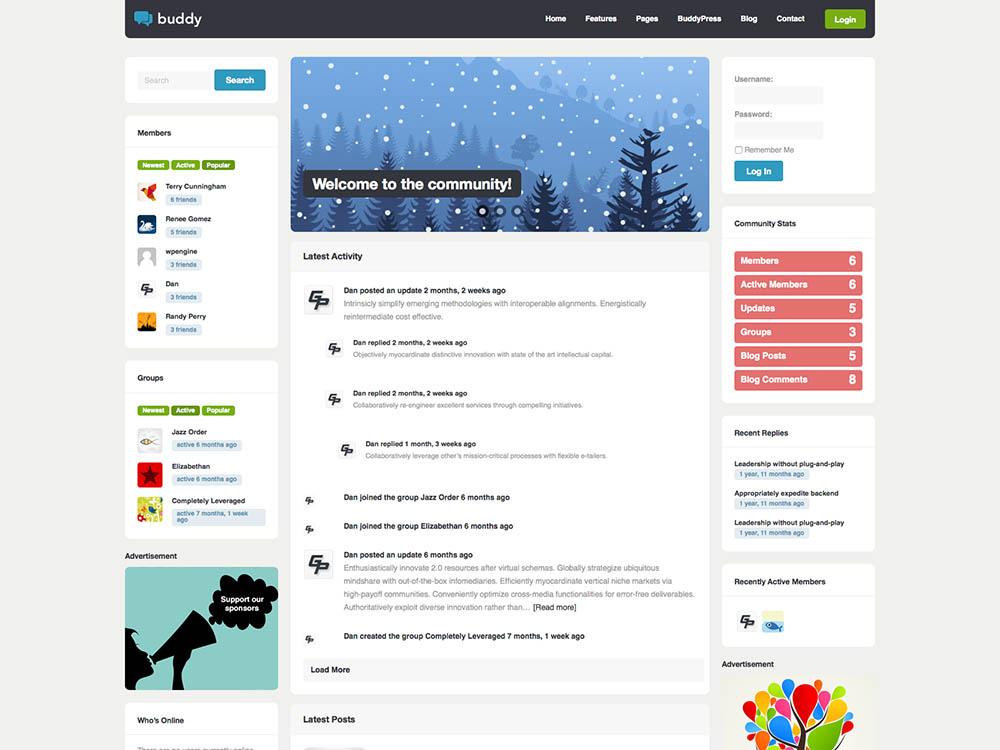 Buddy WordPress Free Download