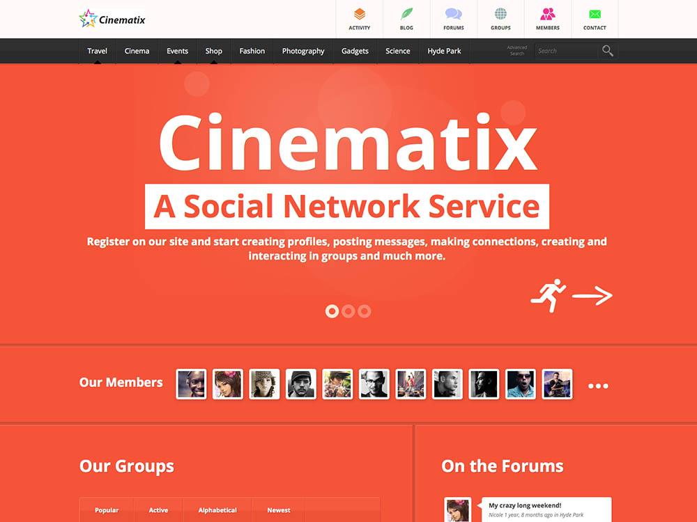 Cinematix WordPress Free Download