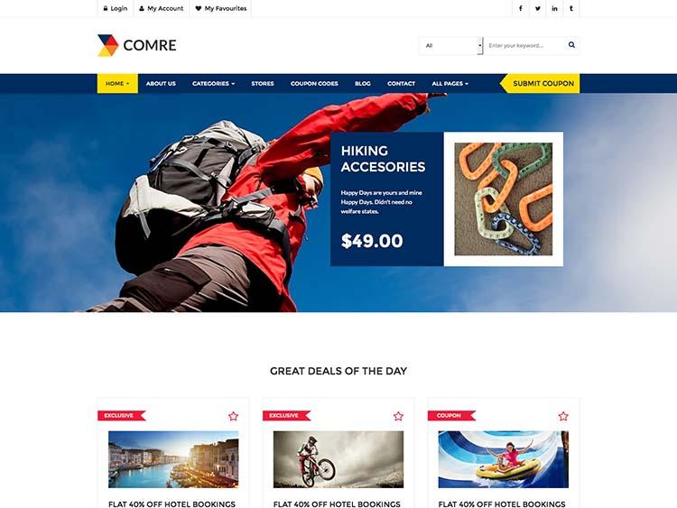 Comre WordPress Theme Free Download