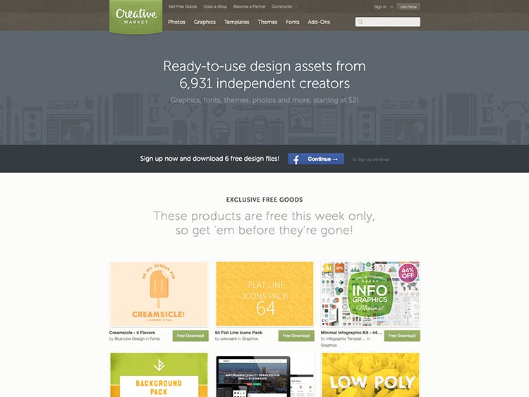 Creative Market Alternatives for Selling WordPress Themes and Templates