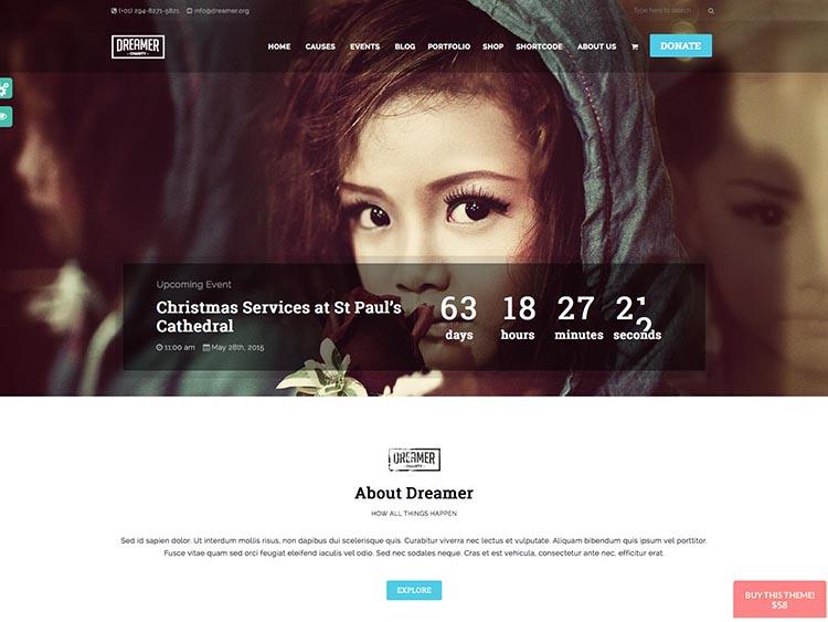 Dreamer WordPress Theme Free Download