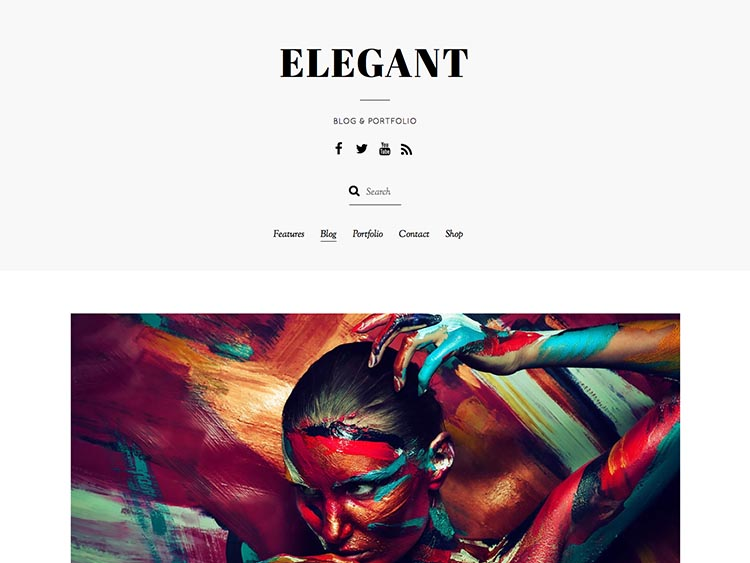 Elegant WordPress Theme Free Download