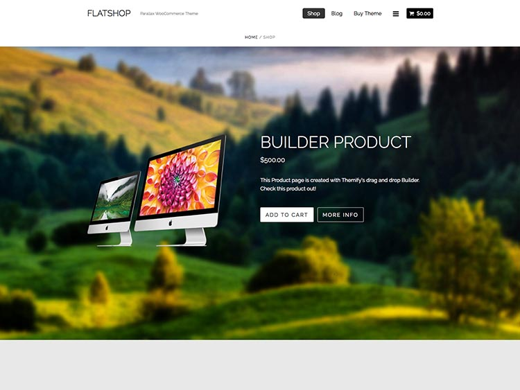FlatShop WordPress Theme Free Download