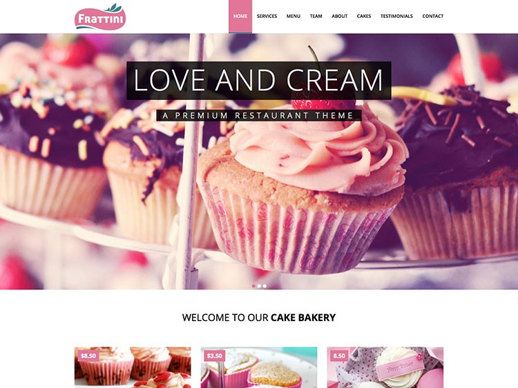 Frattini WordPress Theme Free Download