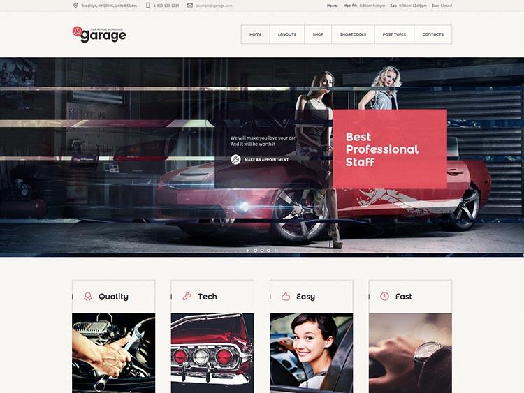Garage WordPress Free Download