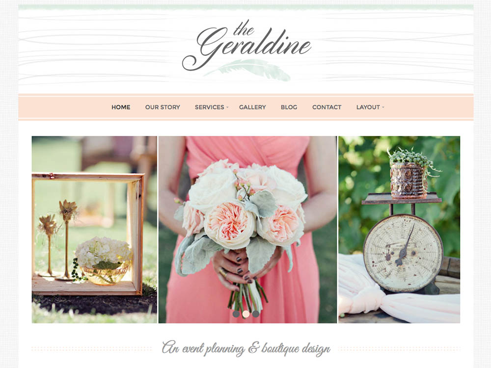 Geraldine WordPress Theme Free Download