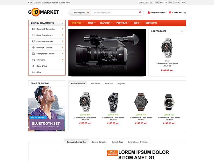 GoMarket WordPress Theme Free Download