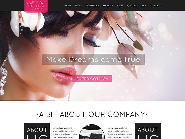 Gothica WordPress Theme Free Download
