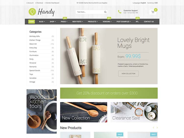 Handy WordPress Free Download