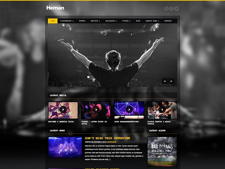 Hernan WordPress Free Download
