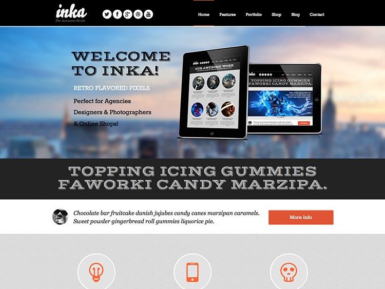 Inka WordPress Theme Free Download