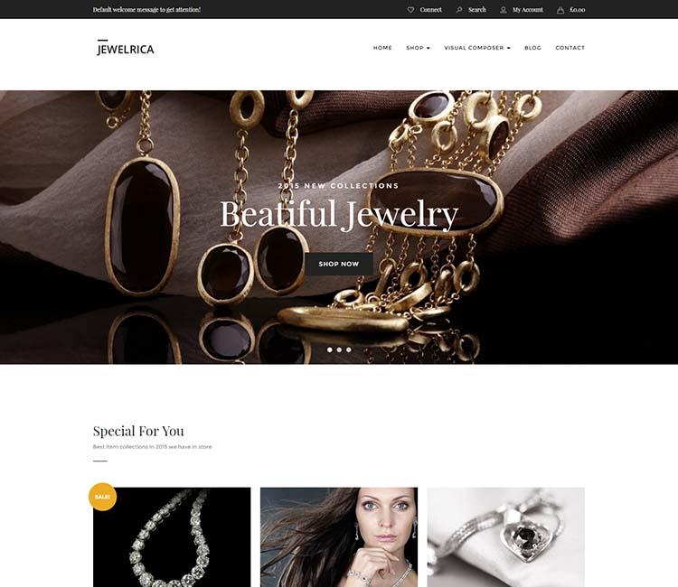 Jewelrica WordPress Theme Free Download