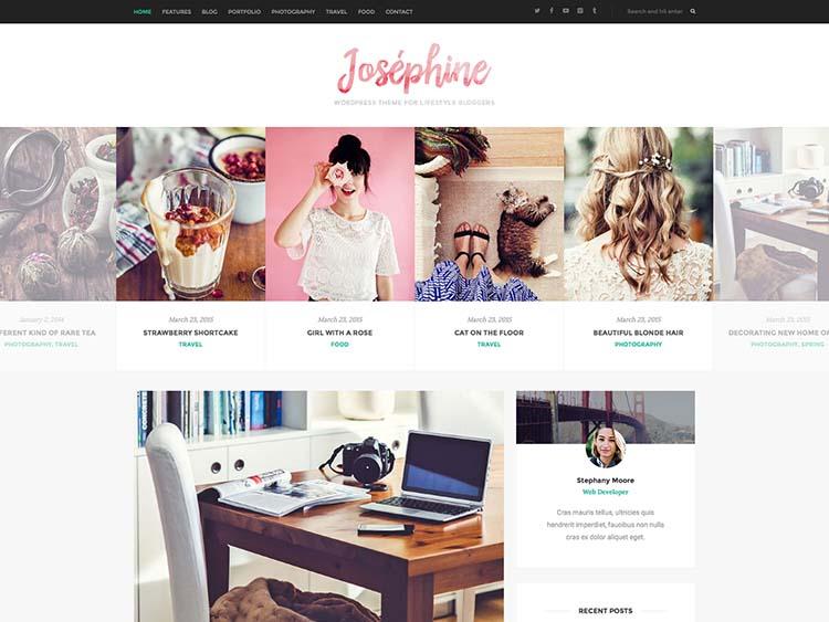 Josephine WordPress Theme Free Download