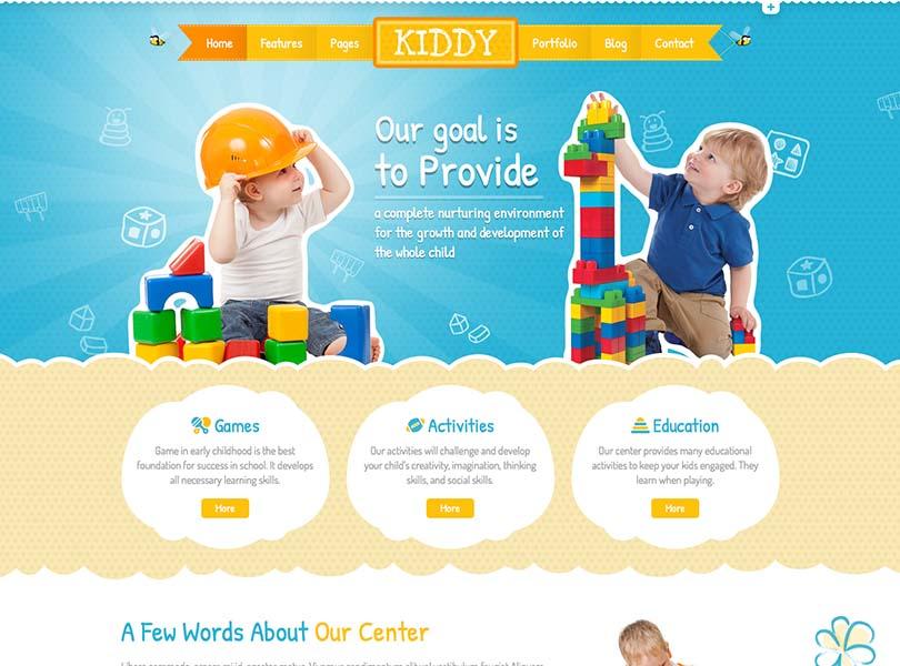 Kiddy WordPress Free Download