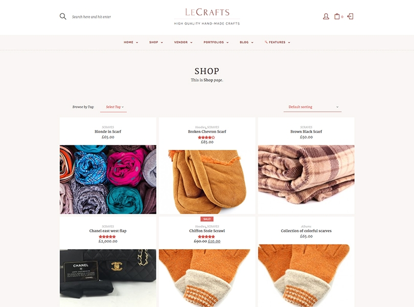 Le Crafts WordPress Free Download