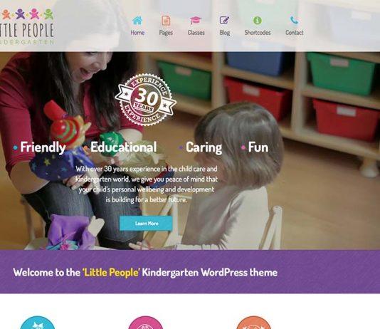 Little People Wordpress Free Download