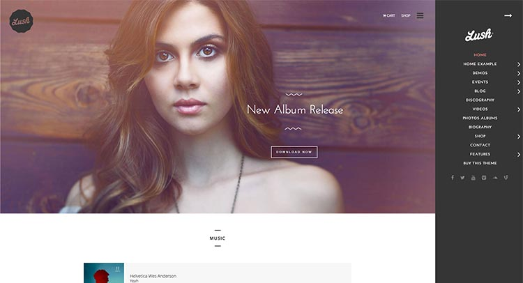 Lush WordPress Theme Free Download