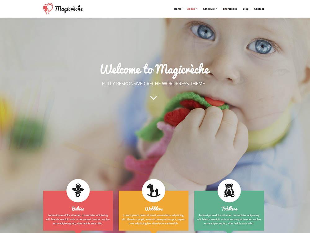 Magicreche WordPress Free Download