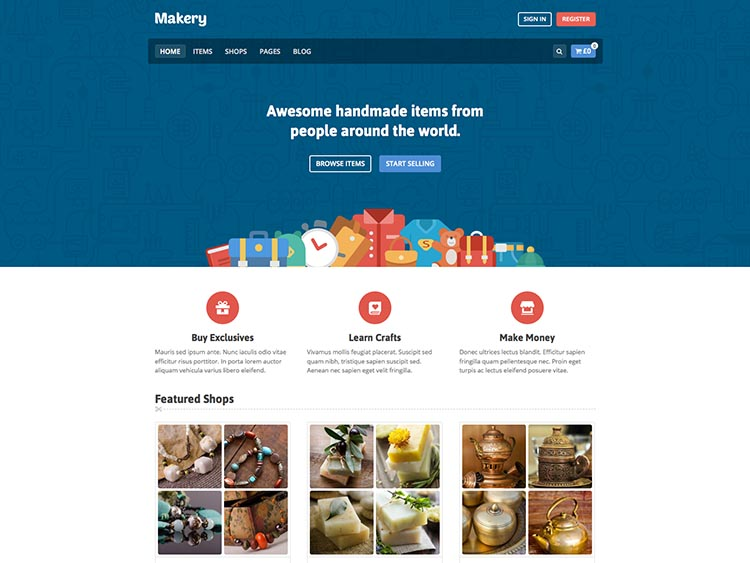 Makery WordPress Free Download