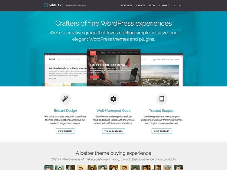 Mighty WordPress Themes
