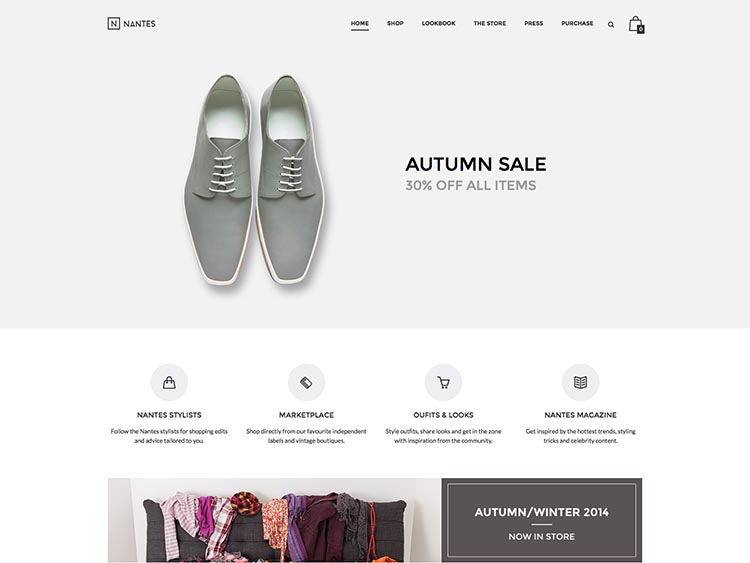 Nantes WooCommerce WordPress Theme Free Download