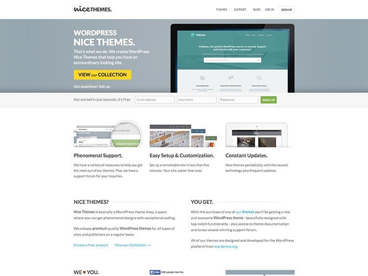 NiceThemes WordPress Theme Free Download