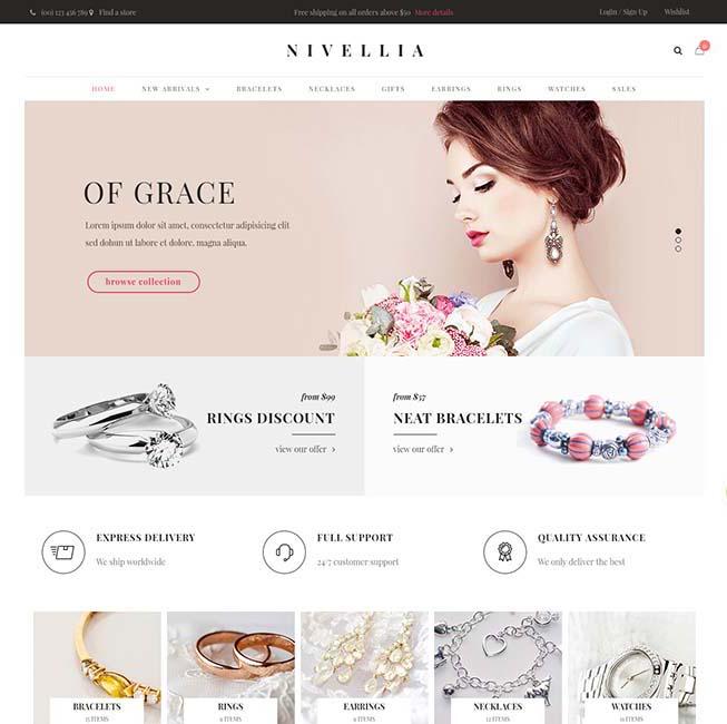Nivellia (Nitro) WordPress Theme Free Download